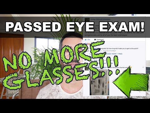 Fixed Eyesight Dmv Vision Test Passed No More Glasses Not Bates Method Endmyopia Youtube