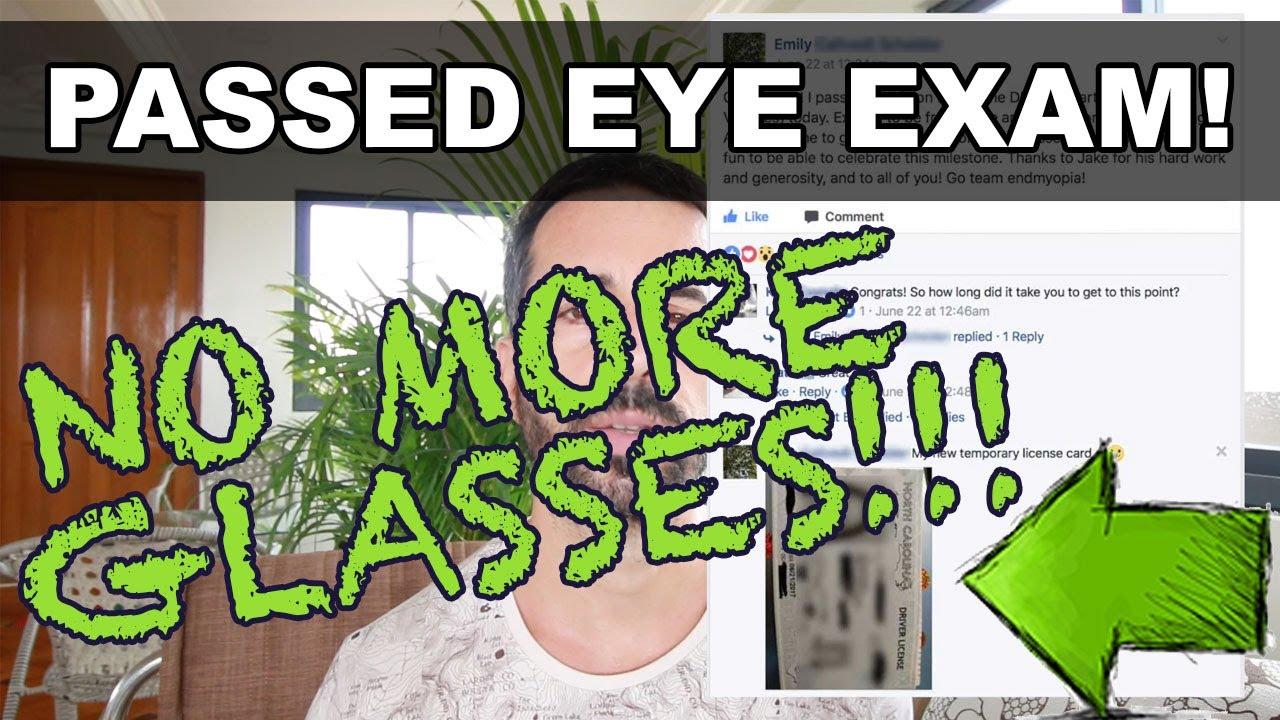 Fixed eyesight dmv vision test passed no more glasses not bates method also rh youtube