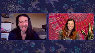 Flying Universe in discussion with ESTAS TONNE – The sweet play of life