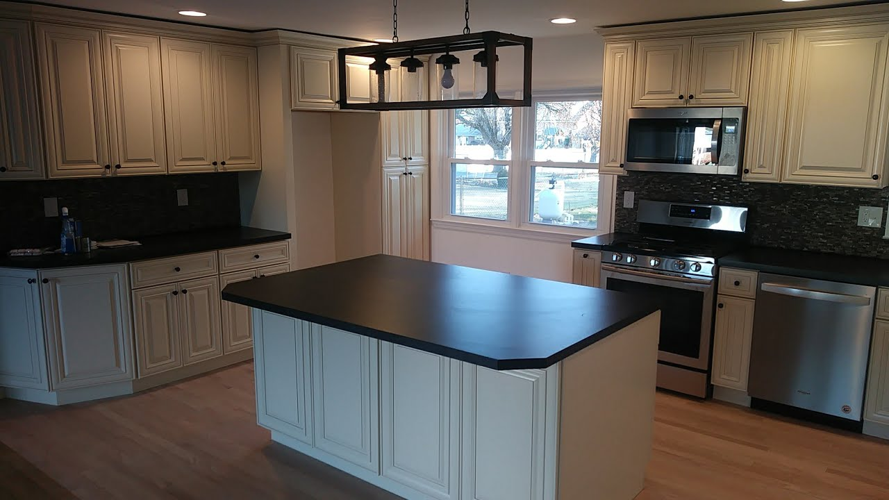 How To Build Make Diy Kitchen Island With Wall Cabinets