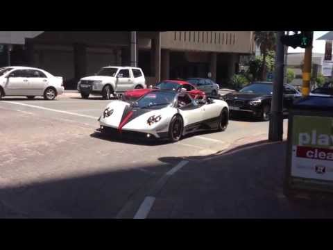 Pagani Zonda Roadster F Clubsport Spotted in Sandton, South Africa