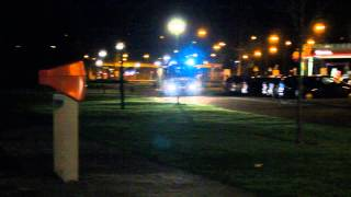 brandweer komt aan bij oms de dintel veghel