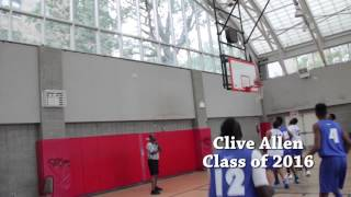 Clive Allen Class of 2016 highlights summer 2014