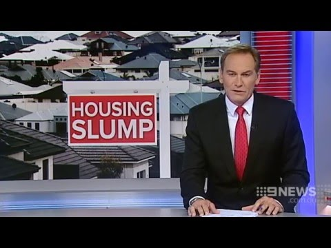 Housing Slump | 9 News Perth