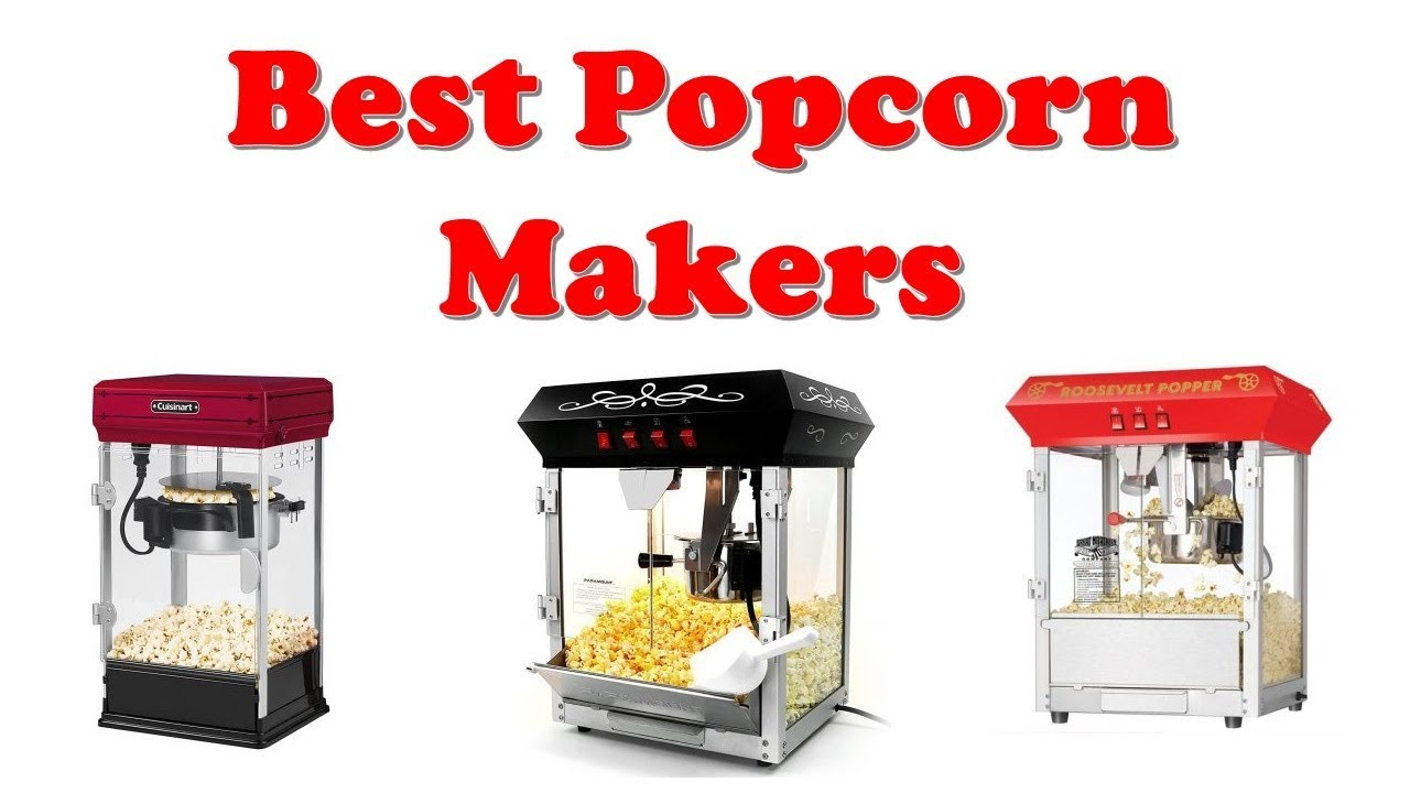 Top 10: Best Popcorn Maker 2020 You Can Buy - YouTube