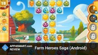 Обзор Farm Heroes Saga для Android