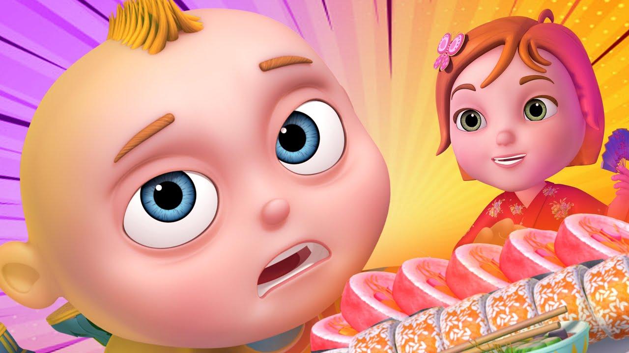 Sushi Restaurant Episode| Cartoon Animation For Children |Videogyan Kids Shows | Funny Comedy Series