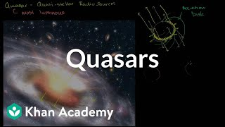 Quasars | Stars, black holes and galaxies | Cosmology & Astronomy | Khan Academy