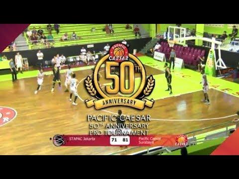 [Pro Baskeball 50th Pacific Caesar] STAPAC Jakarta VS Pacific Caesar Surabaya