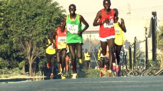 The 21KM Race at The First Lady's Half Marathon 2015 #iambeyondzero