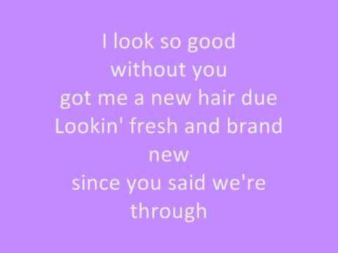 Jessie James-I look so good (without you) lyrics