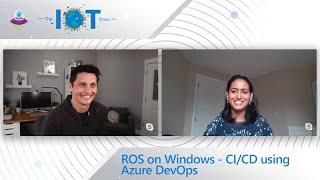 ROS on Windows - CI/CD using Azure DevOps