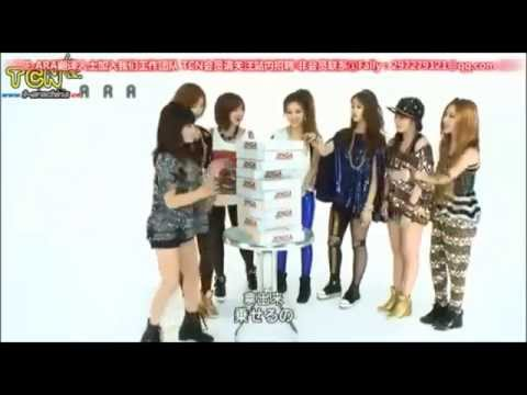 T♔ARA ( 티아라 ) GAME JENGA ( Cute & Funny )