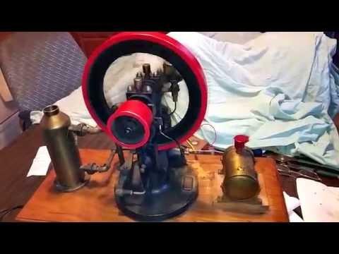 Hit miss motor for sale on Ebay!