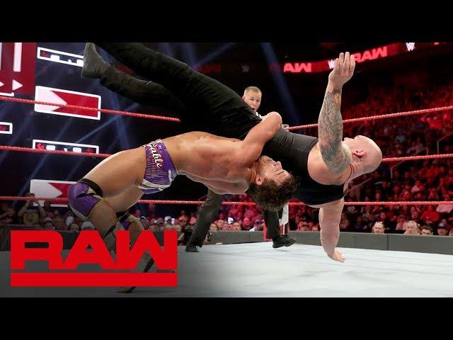HINDI - Chad Gable vs. Baron Corbin – King of the Ring Finals: Raw, September 17, 2019