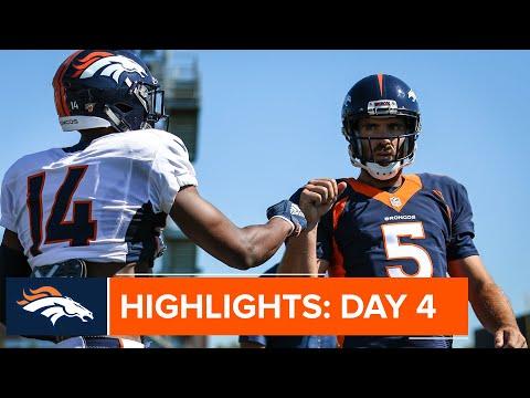 Austin Fort impressive through first few days of Broncos camp