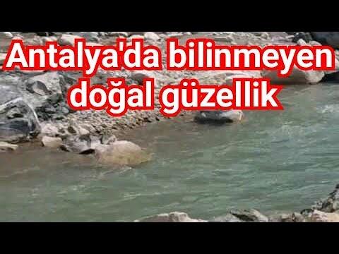 Hacisekililer Köyü Antalya Piknik Alanları Doğası Ve Hacı Sekililer Çandır Çayı