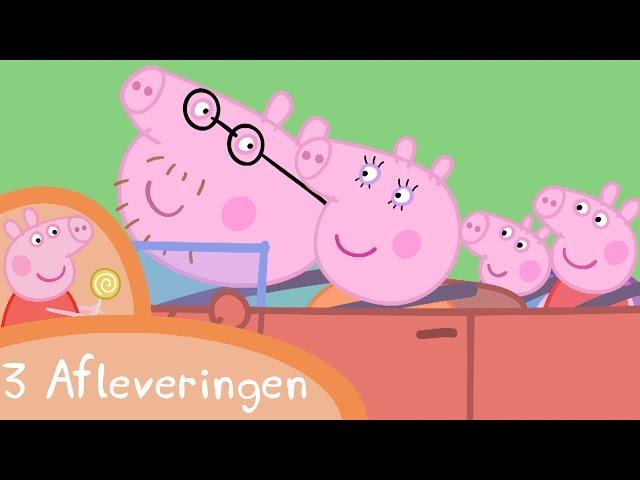 Peppa Pig Nederlands Compilatie Nieuwe Afleveringen | Autowassen | Tekenfilm | Peppa de Big