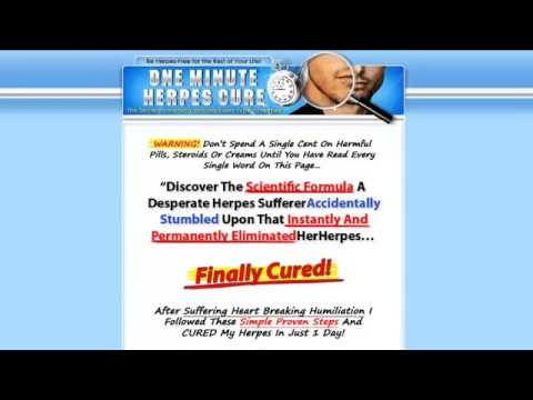 The One Minute Herpes Cure Review - Is The One Minute Herpes Cure a