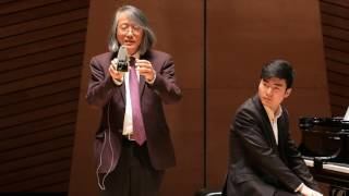 Zixiang Wang 2016 Master Class with Hung-Kuan Chen