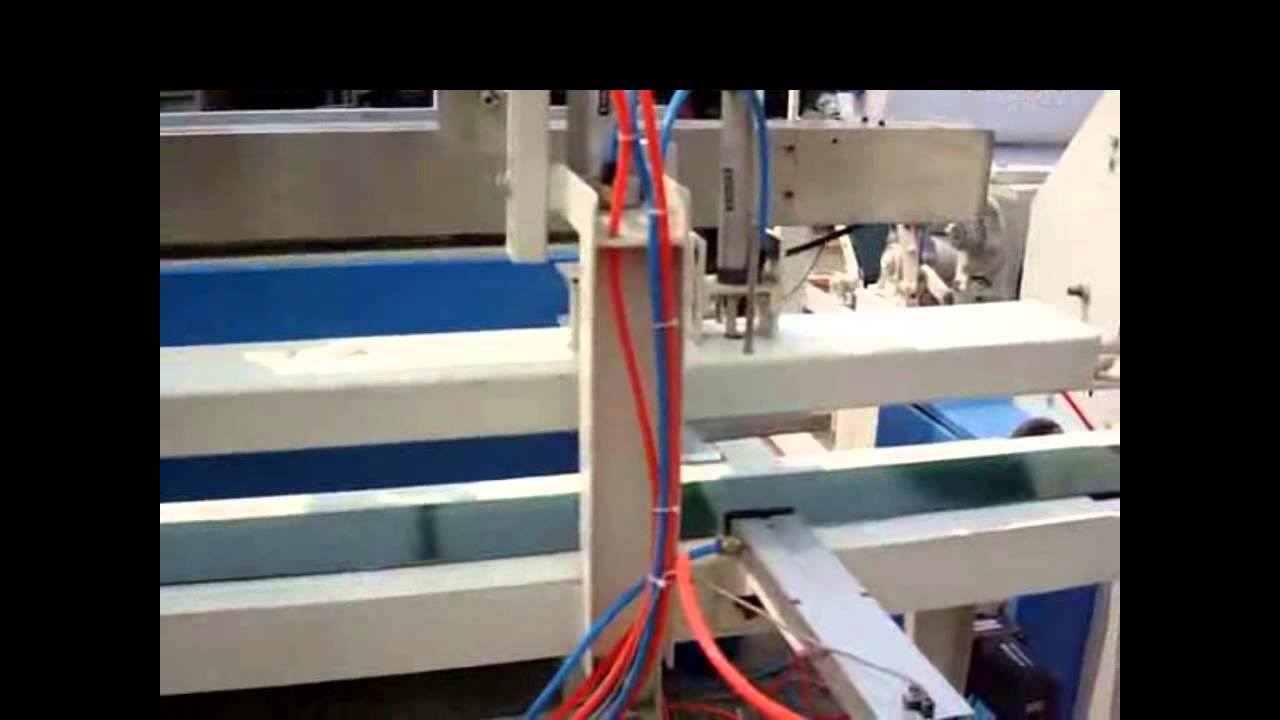 Automatic toilet paper maker system and kitchen towel roll making ...