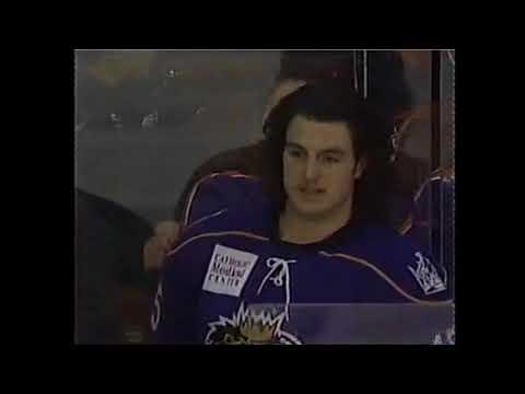 Kevin Westgarth KO's Garrett Klotz AHL fight 23-1-09