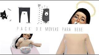 PACK de MOVÉIS de BEBÉ (TODDLER)  The sims 4   ClassySimplicity
