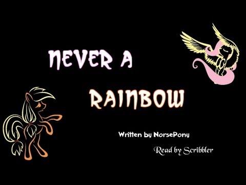 Pony Tales [MLP Fanfic Readings] Never a Rainbow (romance / sadfic / AU - FlutterJack)