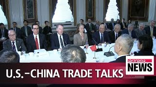 U.S.-China resume trade talks in Washington, reportedly working on MoUs