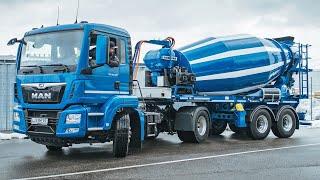 Liebherr - Electric truck mixer ETM 1004 T