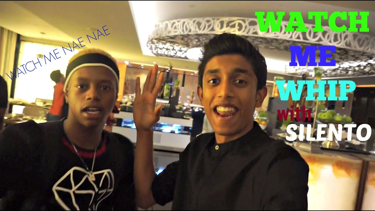 Whipping with Silento in Dubai- Watch Me Whip, Nae Nae! ft MoneyKicks, Adam Saleh and Harris J