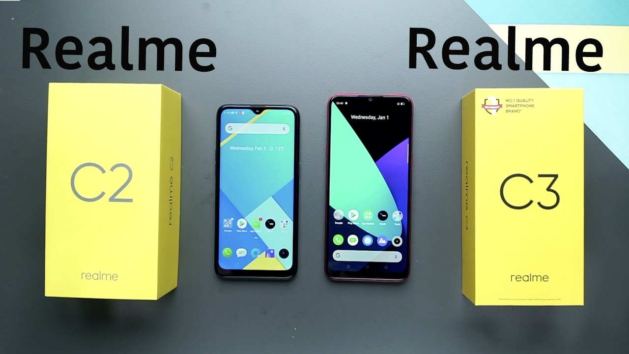 Realme C3 Vs Realme C2 Comparison Overview Youtube