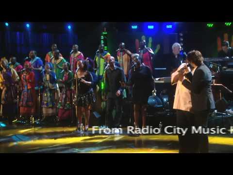 Josh Groban and Vusi Mahlasela perform