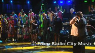 "Josh Groban and Vusi Mahlasela perform ""Weeping"" at Mandela Day 2009 from Radio City Music Hall"