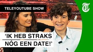 Michelle (25) op date met internet-held Kieckx (14) - TELEYOUTUBE SHOW #10