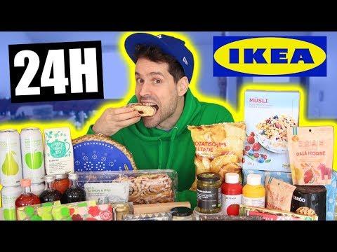 JE MANGE QUE LA NOURRITURE IKEA PENDANT 24H ET... - HUBY