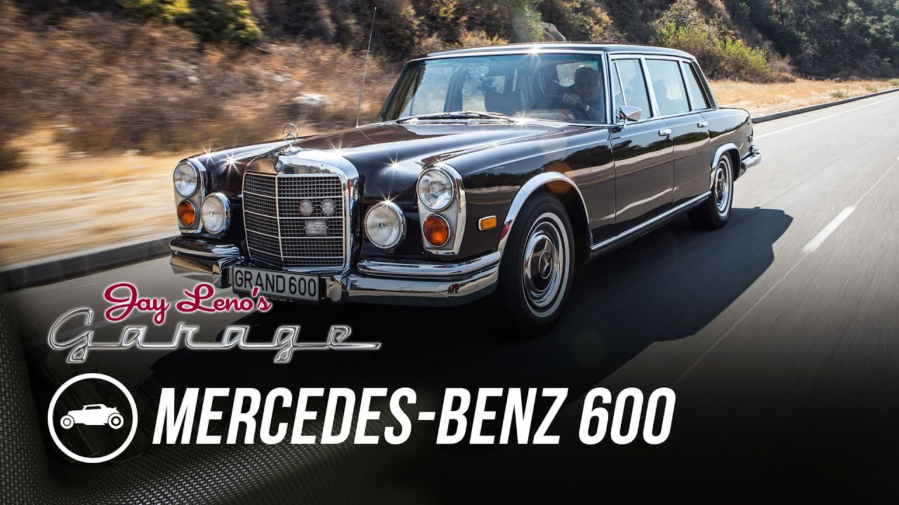 1972 mercedes benz 600 kompressor jay leno 39 s garage youtube. Black Bedroom Furniture Sets. Home Design Ideas