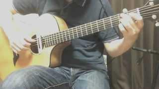 山弦でも有名な佐橋さんのソロギター曲を弾いてみました。 played by Ma...