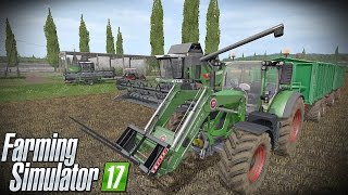 "Farming Simulator 17 ""FENDT W ROSJI"" #1☆ Żniwa soi ㋡ Tanas& MafiaSolec☆"