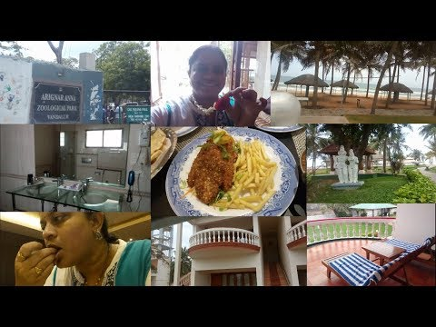TRAVEL VLOG PART 1||BEACH RESORTS IN MAHABALIPURAM||RAMA SWEET HOME