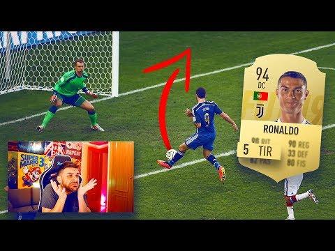 LOS JUGADORES CON PEOR TIRO DE FIFA 19 ... HANDICAP FUT DRAFT