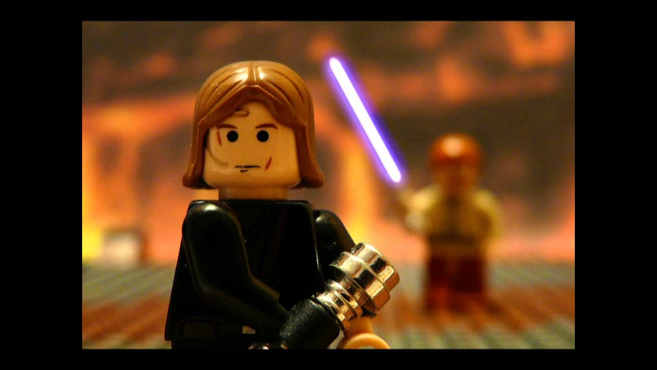 Lego anakin vs obiwan youtube - Vaisseau star wars anakin ...