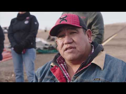 Stand Off at Standing Rock: Cheyenne River Sioux Chairman Frazier Interview