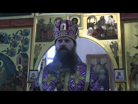 Проповедь в праздник 40 севастийских мучеников. г. Колпашево 22.03.2014 г.