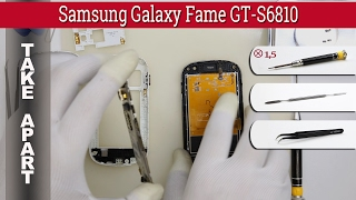 How to disassemble 📱 Samsung Galaxy Fame GT-S6810 Take apart Tutorial