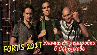 ВОСКРЕСНАЯ УЛИЧНАЯ Тренировка в Серпухове. Отчет  от 14.10.2018 года