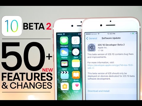 iOS 10 Beta 2 - 50+ New Features & Changes Review!