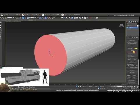 INT - Prop Modeling Live! - Modeling #sci fi #3dsmax #gamedev