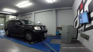 Nissan Pathfinder 2.5 dci 171cv AUTO Reprogrammation Moteur @ 207cv Digiservices Paris 77 Dyno