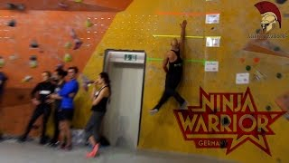 Ninja Warrior Germany Casting Fitness Challenge VLOG